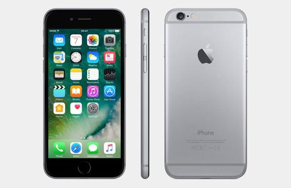 حل مشكلة الشاشة سوداء iphone6